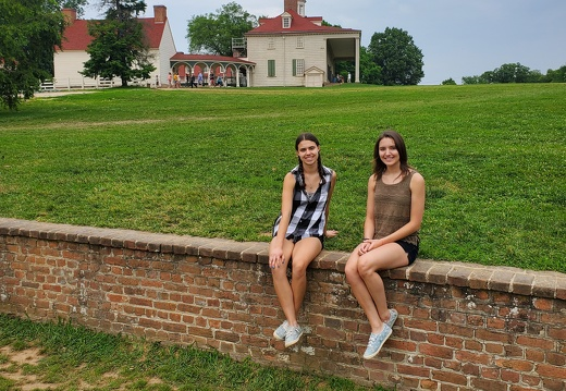 Visitors to Mount Vernon
